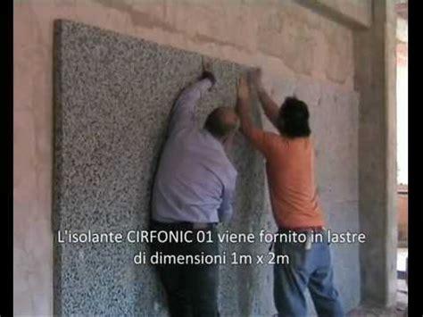 materiale isolante acustico per soffitto posa in opera isolante acustico per pareti cirfonic 01