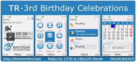 themes new nth themereflex s 3rd birthday celebrations live themes for