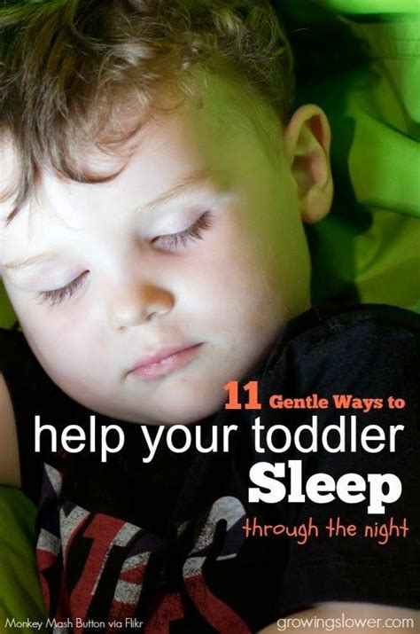 10 natural ways to sleep better and feel energized in the 11 gentle ways to help your toddler sleep through the