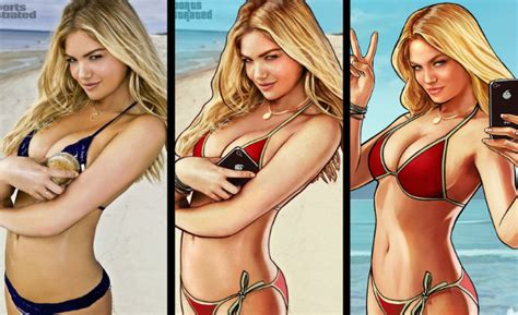 A Kate Upton ?GTA 5? Lawsuit Has A Better Chance Than Lindsay Lohan