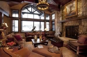 Mountain Home Interior Design Ideas 20 Dise 241 Os De Salas R 250 Sticas