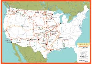 Bnsf Route Map by Consumer Products