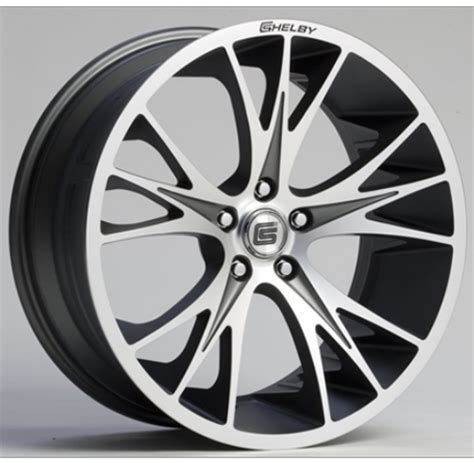2005 2014 ford mustang shelby cs1 machined gunmetal wheel