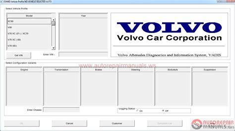 Volvo Vadis 01 2005 Full Instruction Auto Repair