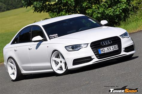 Schmidt Audi by Audi A6 With White Schmidt Xs5 Wheels In 10 5 X 20 Tunershop