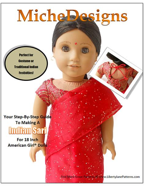 shirt pattern making in hindi pixie faire miche designs indian sari doll clothes pattern for