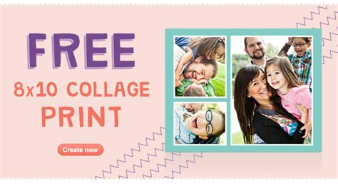 graduation collage print walgreens free 8x10 collage photo print free in store pickup