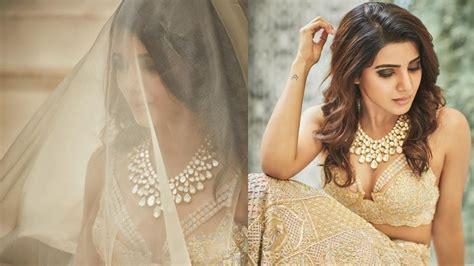 actress samantha wedding video samantha wedding dress video naga chaitanya and samantha