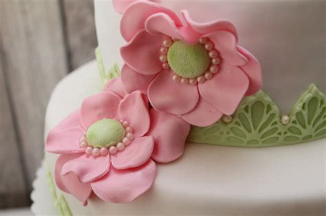 Hochzeitstorte Grau Rosa by Hochzeitstorte Mit Gr 252 N Und Rosa Alle Guten Ideen 252 Ber
