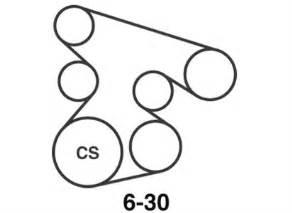 serpentine belt diagram for 2006 honda pilot fixya