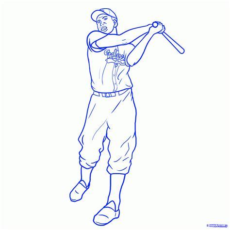 How To Draw Jackie Robinson