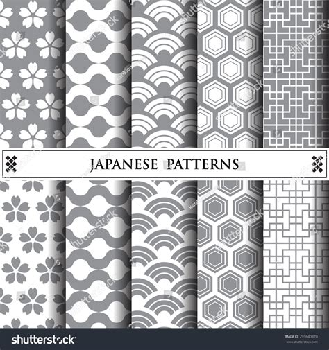 japanese pattern facts japanese vector patterns