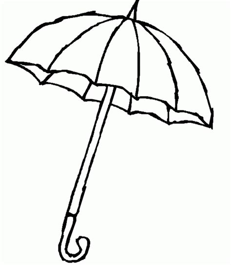 coloring page for umbrella umbrella day coloring pages umbrella with raindrops