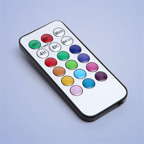 color changing led remote color change led candle set with remote thinkgeek