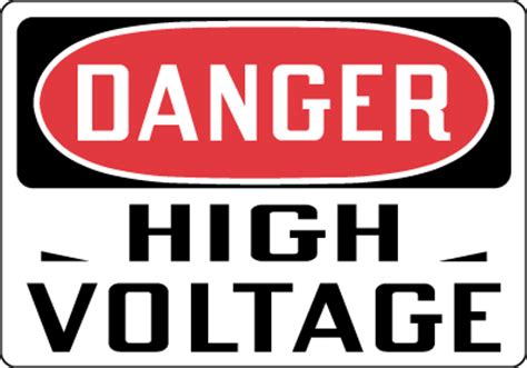 high voltage construction standards most popular osha signs part ii stonehouse signs