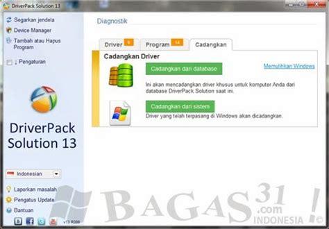 bagas31 driver driverpack ultimate 13 r999 final bagas31 com