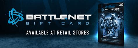 Battle Net Balance Gift Card - the battle net gift card world of warcraft