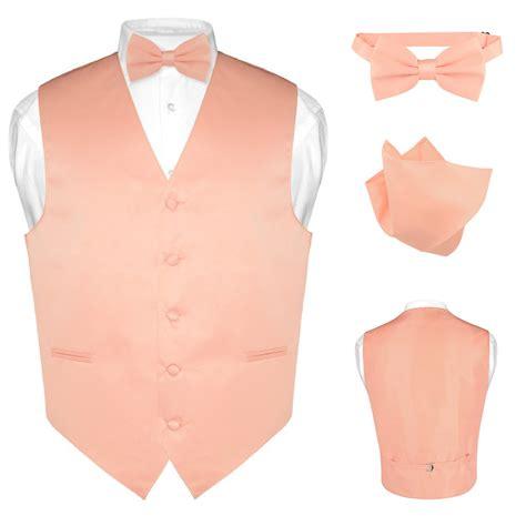 hanky colors s dress vest bowtie hanky solid color waistcoat bow