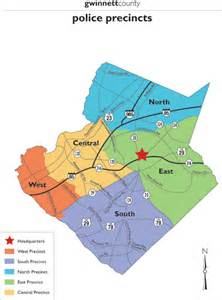 map of gwinnett county gwinnett county travel advisory 4 pm 1 29 14