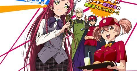 review anime hataraku maou sama anime review hataraku maou sama japan arena