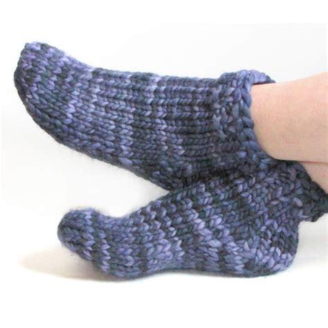 sock knitting pattern free bulky sock pattern toe up top knitfreedom