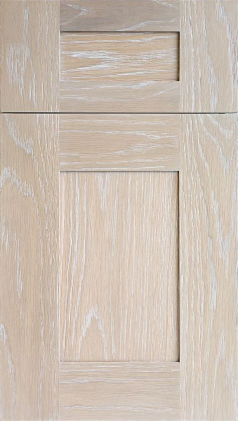 white stained kitchen cabinets meridian wr door in plainsawn white oak in driftwood stain