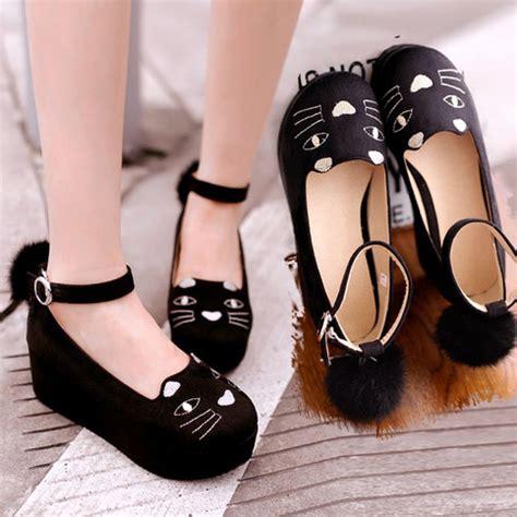 kawaii cat platform shoes 183 kawaii harajuku