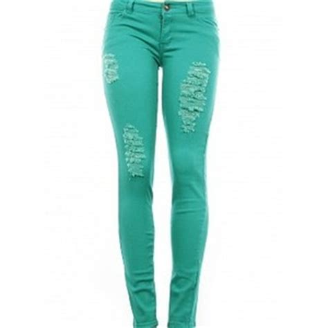 Image result for womens destroyed jeans