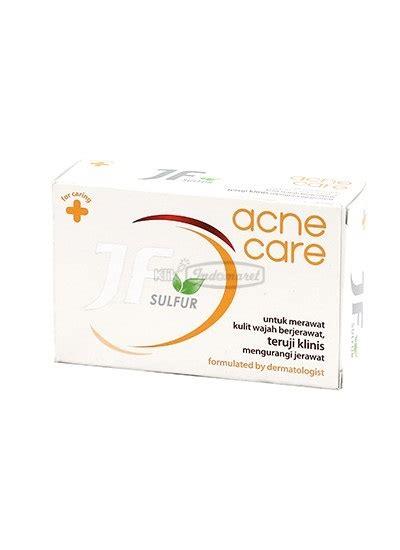 Sabun Jf Sulfur Foam jf sabun mandi sulfur 10 acne treatment bar 90g klikindomaret