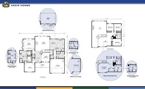 adair home floor plans adair homes plans home plan 17