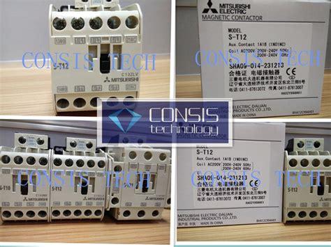 Contactor S T12 Mitsubishi mitsubishi ms t contactor s t12 100 original new one