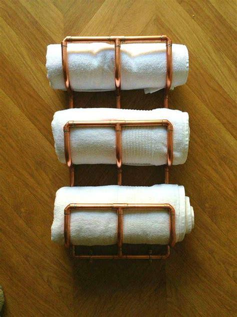 towel stackers bathroom 25 best ideas about bathroom towel rails on