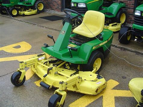 1991 john deere f525 riding mower for sale at