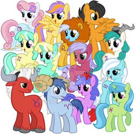 my little pony zodiac zodiac ponies by reiterei on deviantart