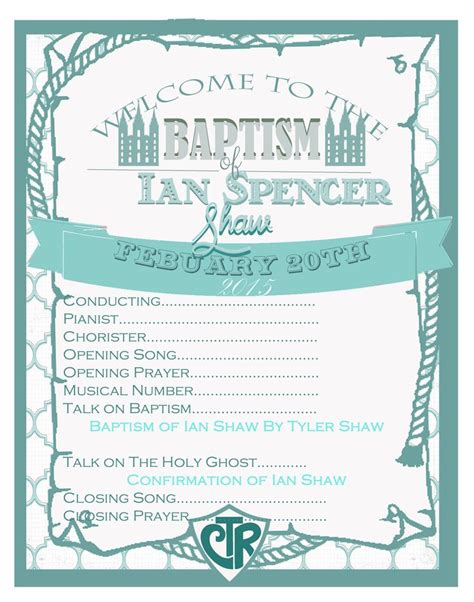 lds baptism card template 25 best ideas about baptism program on lds