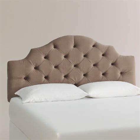 velvet upholstered headboard velvet sabine upholstered headboard world market
