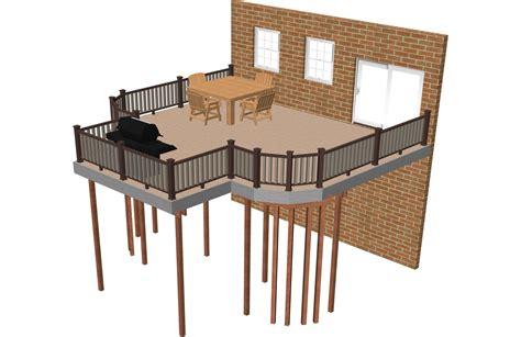Deck Plan by Free Deck Plans Deck Building Plans Timbertech Australia