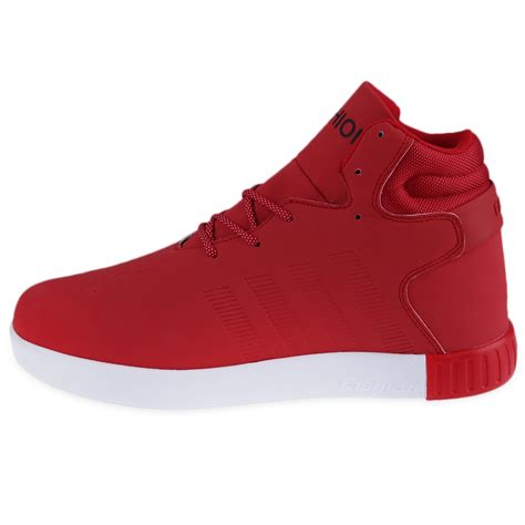 popular athletic shoes new fashion mens casual high top sport sneakers athletic