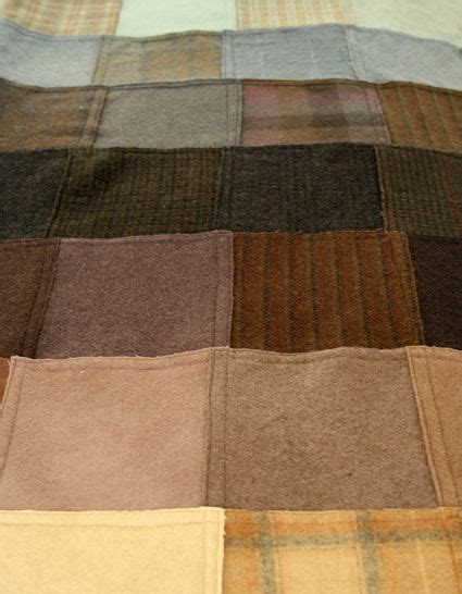 How To Make A Patchwork Throw - felted wool patchwork throw project detail the purl