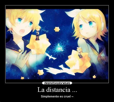 imagenes de amor a distancia anime desmotivaciones de distancia de anime imagui