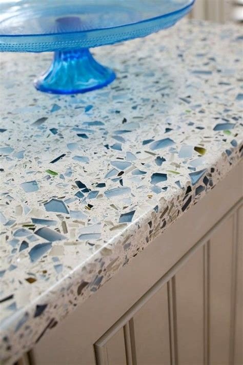 Stained Glass Countertops by Recycled Glass Countertop Sooooooo Heat