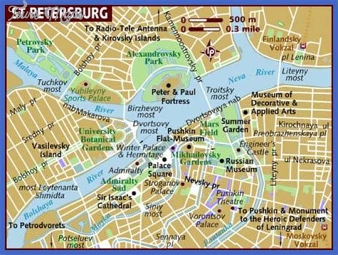 st tourist map st petersburg map tourist attractions toursmaps