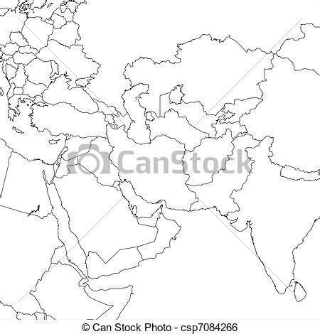 middle east map drawing stock illustration of blank middle east map blank middle