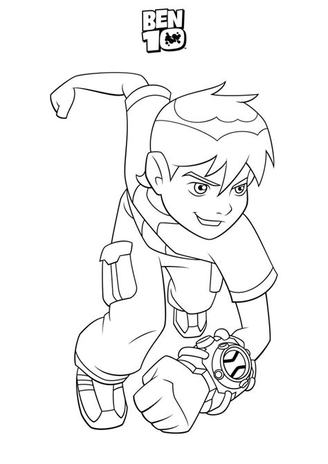 ben 10 painting free free coloring pages of ben10 four arms