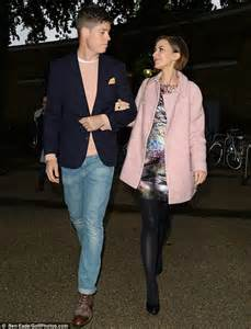 Love Pink Bedding Katherine Kelly Beams As She Attends Jasper Conran Show At