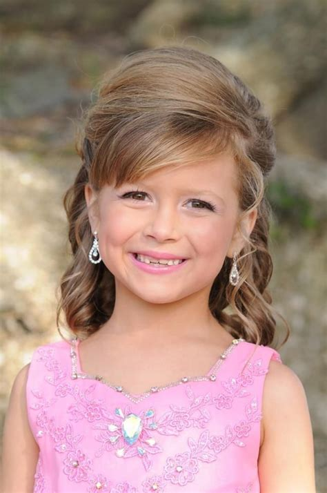 jr miss pageant hair half up half down hairstyle aubs pinterest pageants