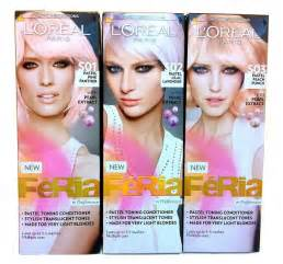 loreal pastel hair color pastel perfection get the fresh soft and modern look