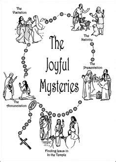 coloring pages of the joyful mysteries the 2nd joyful mystery coloring page visitation joyful