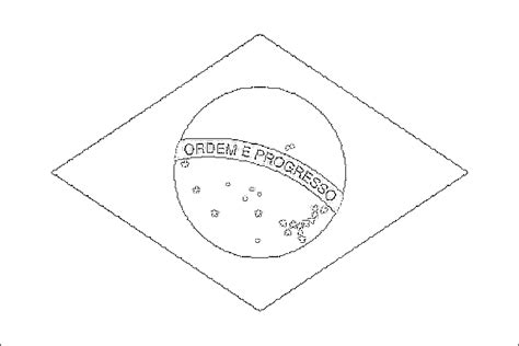 Images And Places Pictures And Info Brazil Flag Coloring Brazil Flag Coloring Page