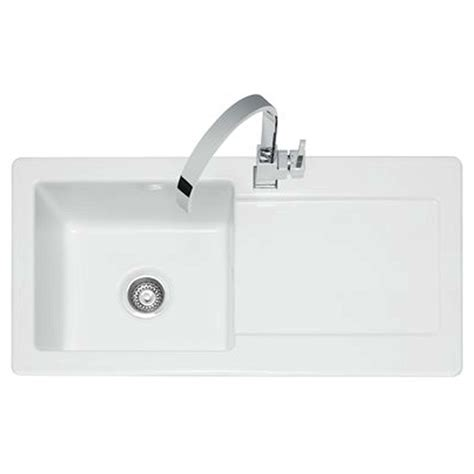 kitchens sinks and taps caple foxboro 100 ceramic sink and washington tap pack